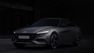 현대자동차가 올 뉴 아반떼 N라인 렌더링을 공개했다