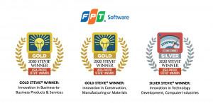 FPT Software의 제품이 2020 아시아-태평양 스티비 어워드에서 2개의 금상과 1개의 은상을 받았다