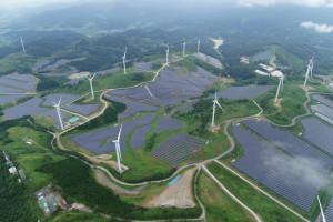 영암 태양광 발전시설