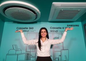 삼성전자가 브라질서 2020년 무풍에어컨 신모델을 출시했다