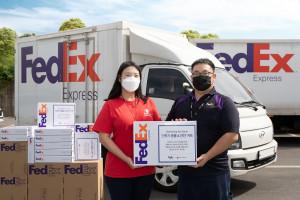 페덱스가 국제 구호개발 비영리기구(NGO) 세이브더칠드런과 함께 올 가을 학기 도움이 필요한 학생들에게 교육용 지원 물품을 전달했다
