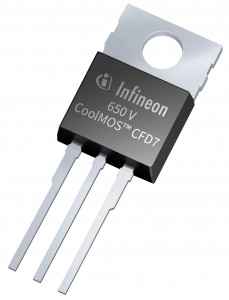 650V CoolMOS CFD7 TO220 3 1