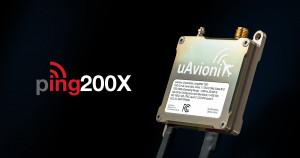 유에이비오닉스가 50g ping200X 모드 S ADS-B 트랜스 폰더에 대한 TSO 신청서를 제출했다. 회사는 무인 항공기의 요구 사항을 충족하기 위해 독점적으로 설계된 최초의 인증된 Mode S 트랜스 폰더를 제공하는 것을 목표로한다