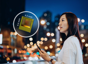 The new REAL3 ToF chip enables better photography results with a faster autofocus in low-light conditions or perfect night mode portraits based on picture segmentation