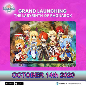 New idle MMORPG 'The Labyrinth of Ragnarok' serviced Gravity Co., Ltd. (NASDAQ: GRVY), a global game company, and operated by Gravity Game Link (GGL), an Indonesian branch of Gravity, was launched in the Philippines, Singapore, and Malaysia on October 14.