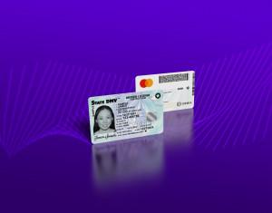 아이데미아가 금융적 수용성을 높이기 위해 신원과 금융을 결합한 컨버지드 카드를 출시했다