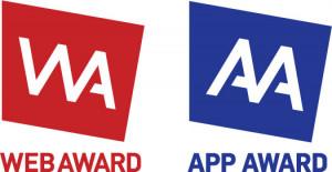 웹어워드코리아와 스마트앱어워드 로고