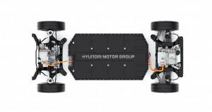 현대차그룹이 전기차 전용 플랫폼 E-GMP를 최초 공개했다