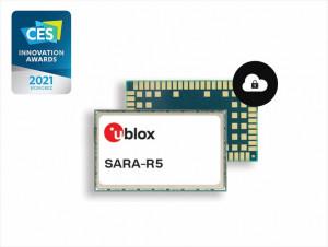 유블럭스(u-blox) SARA-R5 LTE-M 모듈이 CES 2021 혁신상을 수상했다