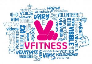 비대면 온라인 헬스장 V Fitness는 Video, Very, Victory, Virtual 등의 의미가 담겨있다