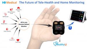 헬시유는 세계 최초의 원격 의료 및 건강 관리를 위한 지능형 올인원 원격 환자 모니터이다. HD 메디컬의 헬시유는 팬데믹 기간과 그 이후의 원격 원격 의료, 심장 관리 및 웰빙의 지속적인 문제를 해결하는 재택 모니터링 장치이다