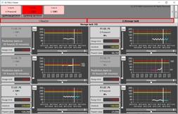 조기 경보 시스템 캡처 화면