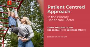 '일차 보건의료: 환자 중심의 의료 전달 체계' 웨비나 포스터