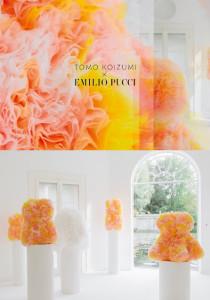 토모 코이즈미(TOMO KOIZUMI) X 에밀리오 푸치(Emilio Pucci) 캡슐 컬렉션