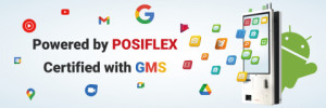 GMS 인증을 획득한 Posiflex에 의해 구동