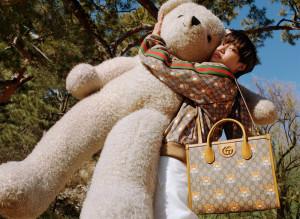 엑소 카이와 함께한 KAI x Gucci 컬렉션 광고 캠페인