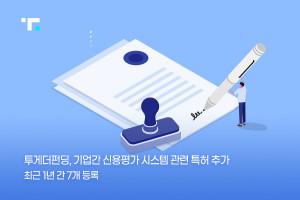 투게더펀딩이 기업간 신용평가 시스템과 관련된 특허를 출원했다