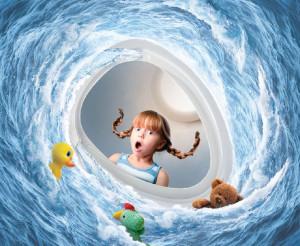 콜러가 자체 물 내림 기술 레볼루션 360을 선보이는 동시에 관련 캠페인을 진행한다