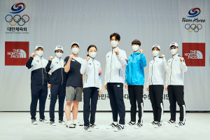 영원아웃도어가 공개한 도쿄올림픽 대한민국 국가대표 공식 단복