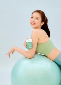 아모레퍼시픽 바이탈뷰티 다이어트 라인업 '메타그린' 모델로 발탁된 배우 손담비