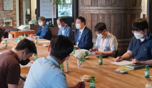 충남연구원이 8일 양조장과 지역만들기 제2차 현장세미나를 개최했다