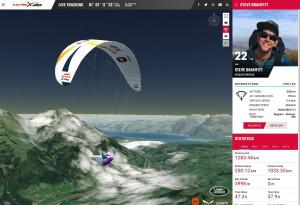 에스리의 아크GIS플랫폼은 레드불 엑스-알프스 대회의 상황을 추적하는데 필요한 월드 이미저리 영상을 제공한다