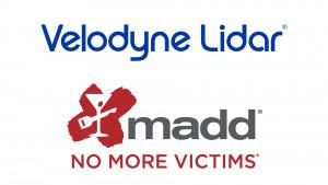 벨로다인 라이다가 자율주행 기술을 일반 대중이 수용하도록 하는 대중교육을 통해 주행 중 충돌사고로 인한 상해를 줄이고 궁극적으로는 이를 없애기 위해 음주운전 반대 어머니 모임(MADD)과 협력한다고 발표했다