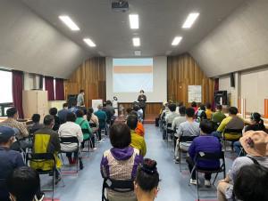 순천시장애인종합복지관이 6월 4일(금)·11일(금) 2회에 걸쳐 복지관 강당에서 관계자 110명이 참석한 가운데 장애인 일자리 사업 교육을 실시했다