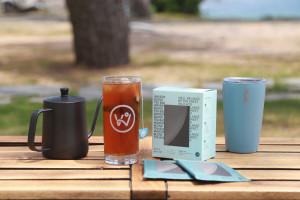 웨이브온 커피가 '커피 티백 4종'을 새롭게 출시한다