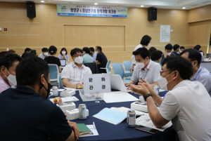 충남연구원은 청양군의 현안 진단과 미래과제를 도출하기 위한 정책개발 워크숍을 진행했다