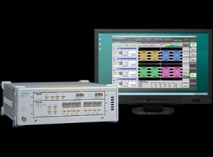 MP2110A는 25G~800G 광 모듈의 제조 평가에 적합한 측정기로, 4 채널의 샘플링 오실로스코프(아이 패턴 분석)로 BERT(비트 오류율 측정)을 1 케이스에 통합할 수 있다