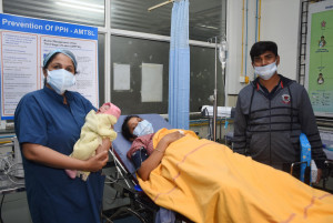 Women in India are the first in the world to receive new heat-stable carbetocin formulation to prevent excessive bleeding after childbirth