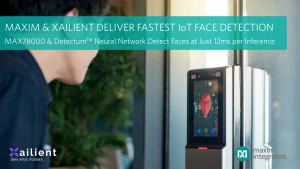 맥심이 자일리언트와 빠른 IoT 안면 인식을 제공한다