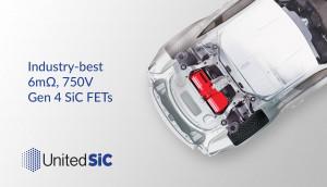UnitedSIC가 6mΩ SiC FET를 출시했다