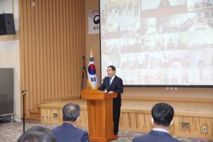 한국법무보호복지공단은 9월 27일(월) 제14대 신용도 이사장의 퇴임식을 거행했다