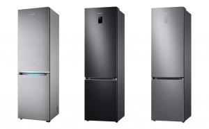 독일 최대 소비자 매체 '스티바'의 냉장고 제품 평가에서 상냉방·하냉동(BMF) 부문 1~3위를 석권한 삼성전자 냉장고(왼쪽부터 1·2·3위를 차지한 모델)