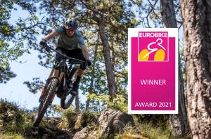 세나테크놀로지가 '유로바이크 어워드 2021'에서 본상을 수상했다