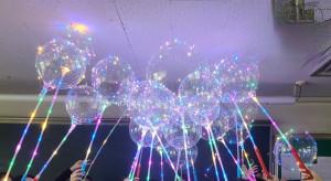 충남대 WISET사업단이 마련한 찾아가는 실험실에서 완성된 Wire light 풍선