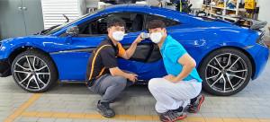 기흥 오토 서비스센터 이성근, 강남 제비스코 오준영(SK 뉴스쿨 자동차판금도장과 졸업(前 해피카스쿨))