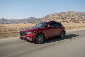모터트렌드가 발표하는 2022년 올해의 SUV에 최종 선정된 제네시스 GV70