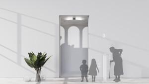 현대엘리베이터가 출품한 '디 엘 이모션(The EL Emotion)'이 독일 레드닷 디자인 어워드 퍼블릭 스페이스 부문 본상을 받았다