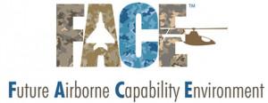 항공전자 기술 표준 FACE 로고