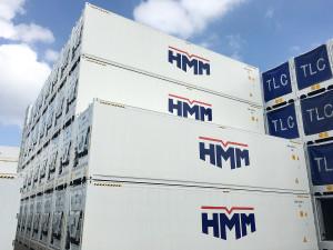 신규로 제작된 HMM 냉장·냉동 컨테이너(Reefer Container)
