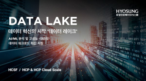 효성인포메이션시스템이 데이터 레이크 시장 공략을 강화한다