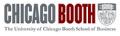 시카고대학 경영대학원 Logo