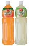 롯데칠성음료(대표이사: 이종원)는 지난 3월 28일 1.5 ℓ 페트 주스 가운데 초저가 제품인 '델몬트 따봉 오렌지'와 '델몬트 따봉 구아바' 2종(용량 및 소비자가격: 1.5 ℓ, 1,600원)을 출시했다.