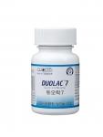 바이오 벤처기업 쎌바이오텍(대표 정명준 /www.cellbiotech.com)은 특허 받은 이중코팅 기술을 이용해 6가지 유산균을 혼합한 고함량의 유산균 제품'듀오락 세븐(DUOL