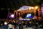 """19일 상암동 월드컵 경기장에서 래미안 입주 고객과 회사 임직원 등 3만 명이 참석한 가운데 """"2008 래미안 페스티벌"""" 을 개최했다."""