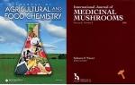논문이 게재된 국제학술지 농업식품화학저널과 국제약용버섯저널