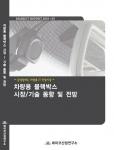 데이코산업연구소 '2010 차량용 블랙박스 시장/기술 동향 및 전망' 보고서 표지